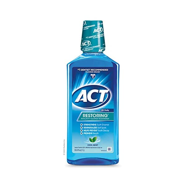 ACT Restoring Flouride Mouthwash