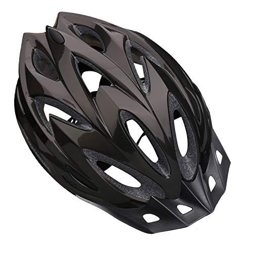 Shinmax Casco Bici Casco da Bicicletta, Certificato CE da Casco Bici Uomo con Visiera Parasole Staccabile Protezione di Sicurezza Casco da Ciclismo Leggero Taglia Regolabile per Casco Bici Adulti
