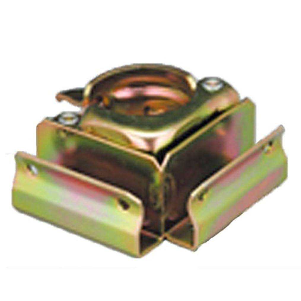 汗任命する倒産【40個】 マルサ 板止め クランプ コーナータイプ 48.6 単管で手軽に物置きが組み立てられます。 アMD