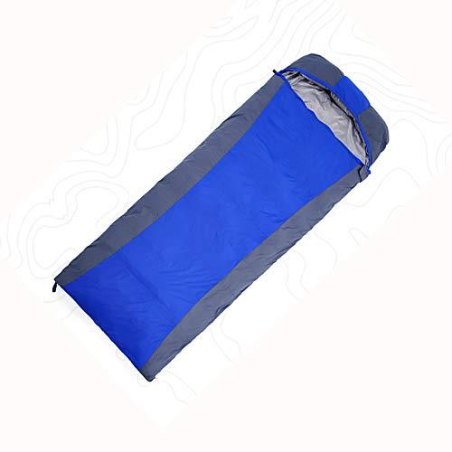 JW-LYSD Exterior del sobre-Type Abajo Saco de Dormir, Larga y Gruesa de Invierno Pato Ultra-Light Abajo Saco de Dormir,Azul