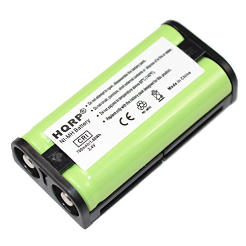 HQRP Battery Works with Sony BP-HP550-11 MDR-RF925 MDR-RF925R MDR-RF925RK MDR-RF970 MDR-RF970RK MDR-RF811 MDR-RF811RK Wireless Stereo Headphone System