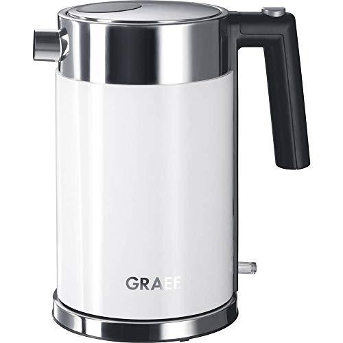 Graef WK61EU Wasserkocher schnurlos Weiß