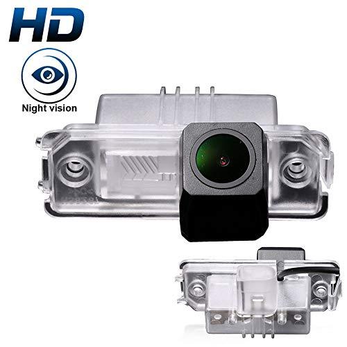 HD IP68 1280 Pixeles 1000 TV líneas 170 Gran Angular IR Visión Nocturna Vista Posterior Cámara de Marcha atrás para Amarok/Kafer/Bora/Golf/Lupo/Passat/Phaeton/Porsche/Cayenne/Seat/Skoda
