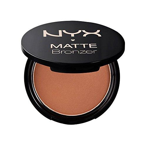 NYX Professional Makeup Matte Body Bronzer, Gepresstes Puder, Ohne Schimmer-Effekt, Vegane Formel, Light