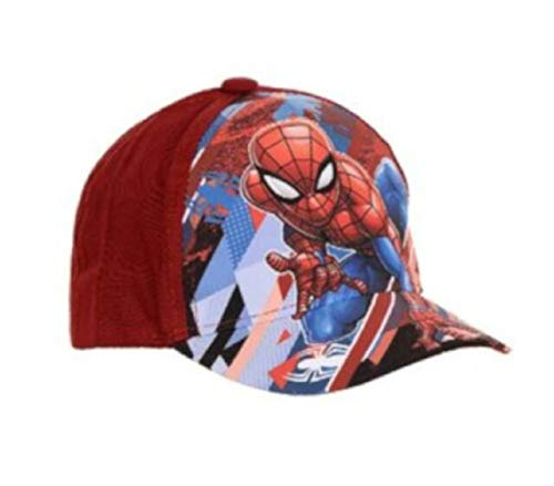 Marvel Official Disney Little Boys' Spiderman/Star Wars/Baseball Caps/Summer Hats (52cms 2-4 Years, Red EP4112)