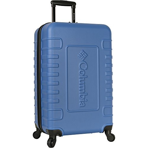 Columbia 25' Hardside Expandable Spinner Luggage, Blue Red