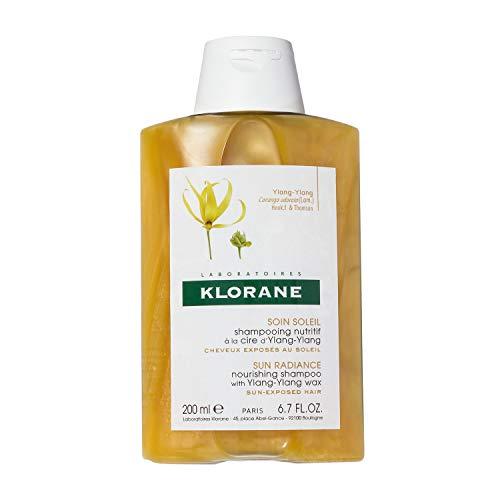 Klorane Champú con Cera de Ylang Ylang para Cabello Expuesto al Sol - 200 ml