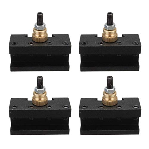 Great Price! YF-Chen Lathe Accessories 4Pcs Quick Change Tool (1/4-1/2Inch), Turinng Tool Holder, CN...