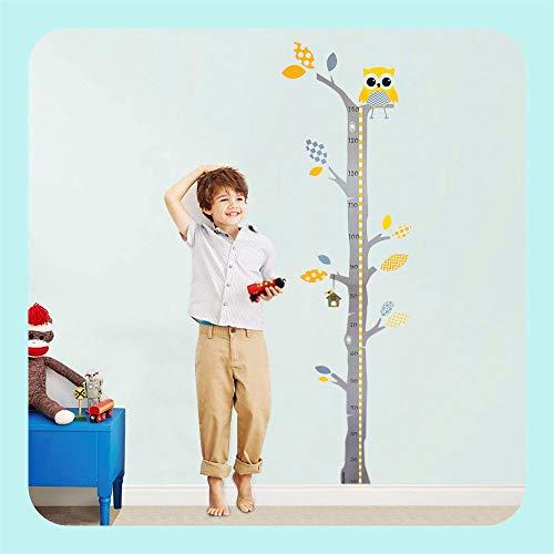 Brunoko stickers muraux enfants toise murale enfant - stickers muraux chambre et...