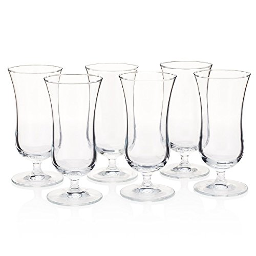 """Hurricane """"Tropical Storm"""" Cocktail Glass (Party Set of 6)"""