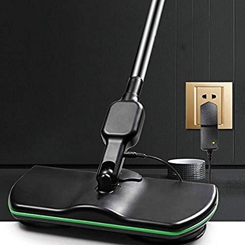 ComBoo Wiederaufladbarer Elektrischer Schleudermopp-Griff Schnurloser Reiniger, 3-in-1-Schleuderreiniger für alle Oberflächen, Nass-Trockenmopp-Polierer mit 4 Mikrofaserpads und 2 Poliererpads