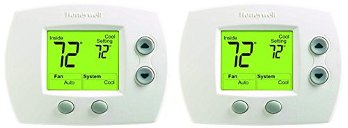 Honeywell TH5110D1006 Non-Programmable Thermostat, Pack of 2, White, 2 Count