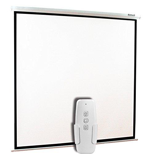 pantalla de proyeccion eléctrica de 84 fabricante Mattweiss