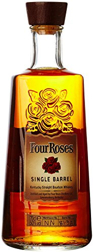 Four Roses Single Barrel Bourbon Whiskey, 70 cl