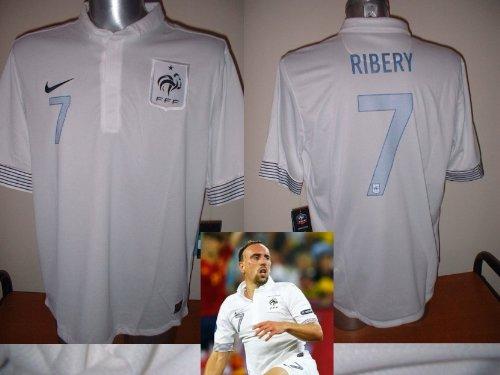 NIKE FRANCE RIBERY Franck Shirt Jersey Calcio Adulto XL BNWT New Bayern Monaco Extra Large Francais Trikot Maillot Marsiglia