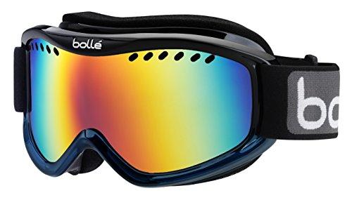 Bolle 20993 - Maschera da Sci Adulto Unisex, Multicolore (Black/Blue Fade), Taglia unica