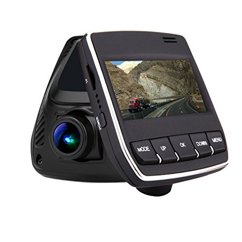 """Dash Cam Pro Car Camera DVR 2.45"""" Screen 165 Degree Wide Angle Dashboard Vehicle Video Camcorder 1080P HD for Cars, Loop Recording,WiFi"""