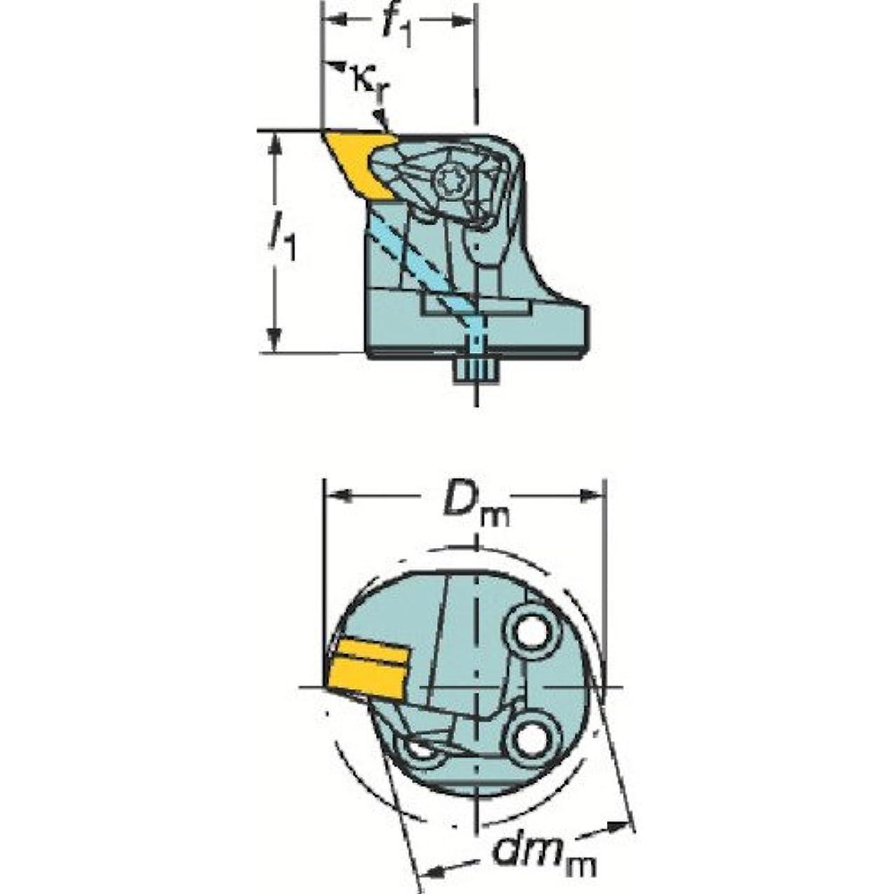 悲惨なタンカー申請者TRUSCO サンドビック コロターンSL コロターンRC用カッティングヘッド 570DDUNL3211