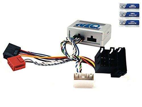 NIQ Lenkradfernbedienungsadapter geeignet für Nanox Autoradios, kompatibel mit Hyundai IX35 Bj. Ab 2010 mit Navi und OEM Soundsystem