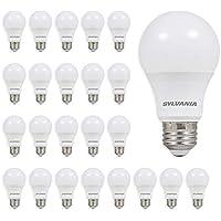 24-Pack Ledvance Sylvania 40986 LED A19 Light Bulb