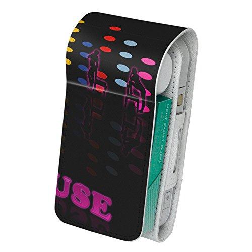 スマコレ iQOS アイコス レザーケース 【従来型/新型 2.4PLUS 両対応】 タバコ 専用 ケース カバー 合皮 カバー 収納 ユニーク 人物 カラフル 007213
