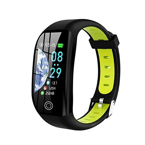 Pulsera Inteligente Salud Fitness Deportes Pulsera Inteligentef21 Gps Smart Bracelet Cardio Watch Ip68 Impermeable Smart Band Calorie Podómetro Sport Wristband-1 Rastreador De Muñeca De Frecuencia