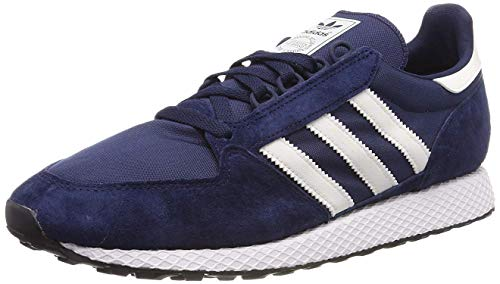 adidas Herren Forest Grove Fitnessschuhe, Blau (Collegiate Navy/Cloud White/Core Black), 44 EU (9.5 UK)