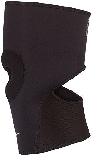 Nike PRO Open-Patella Knee Sleeve 2.1, Ginoc C/AP Rotula Unisex Adulto, Nero, S