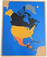 north america montessori map