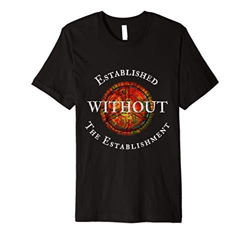 Hippie Tye Dye anti establishment Peace T-Shirt