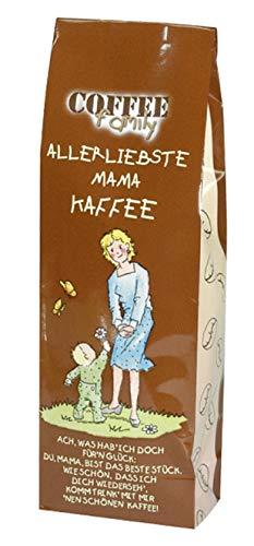 "Zum Muttertag - Kaffee- Coffee-Family - ""Allerliebste MAMA-Kaffee"""