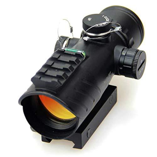 TCpick Red DOT Sight with Air Level, Parallax Free Unlimited Relief Eye Facilmente utile per la Caccia e Il tiro a Distanza ravvicinata