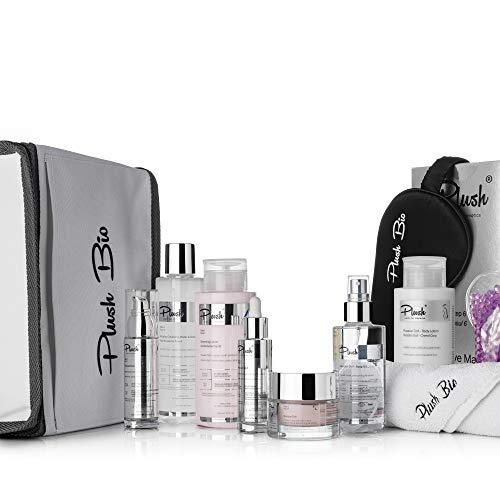 Plush luxuryBIOcosmetics - Russian Lady Range - Set 10 productos - para cualquier mujer interesada en un proceso completo de rejuvenecimiento de la piel de primera calidad - tipos de piel: todos