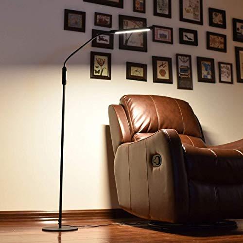 JBP Max staande lamp, woonkamerlamp, led-vloerlamp, oogbescherming, verticale piano lamp-4
