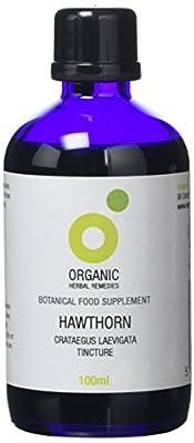 Organic Herbal Remedies Hawthorn Tincture, 100 ml