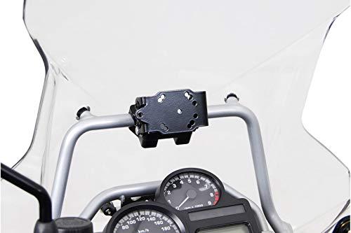 SW-MOTECH GPS.07.637.10000/B GPS Mount for Crossbar Ř 17 mm, Negro, Talla única
