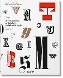 Type. A visual history of typefaces & graphic styles (1628-1938). Ediz. inglese, francese e tedesca: VA