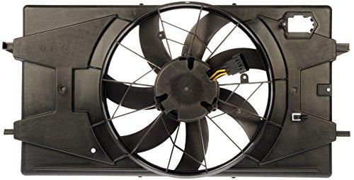 Dorman 620-691 Engine Cooling Fan Assembly for Select Saturn Models, Black