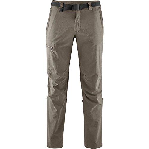 Maier Sports Wanderhose Roll-up Nil, Pantaloni Funzionali Uomo, Marrone (Teak), 68