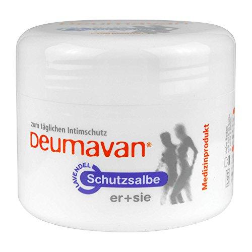 Deumavan Schutzsalbe mit Lavendel Dose Intimpflege, 100 ml