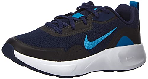 Nike Wearallday, Zapatillas Deportivas, Midnight Navy Imperial Blue, 33.5 EU