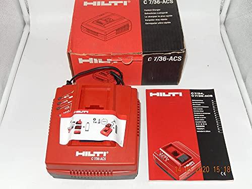 HILTI C 7/36 ACS Schnellakkulader für Akkubohrhammer/Akkubohrmaschine 36V, NEU, offiziell unbenutzt, von einer Aussteller HILTI TE 6 A