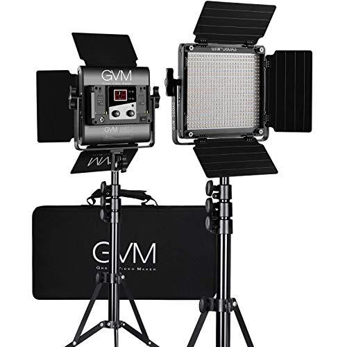 Video Led Light  marca GVM Great Video Maker