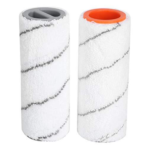 Ladieshow cepillo rodante aspiradora barredora de piso accesorios para el hogar aptos para KARCHER FC3 FC5 2 uds