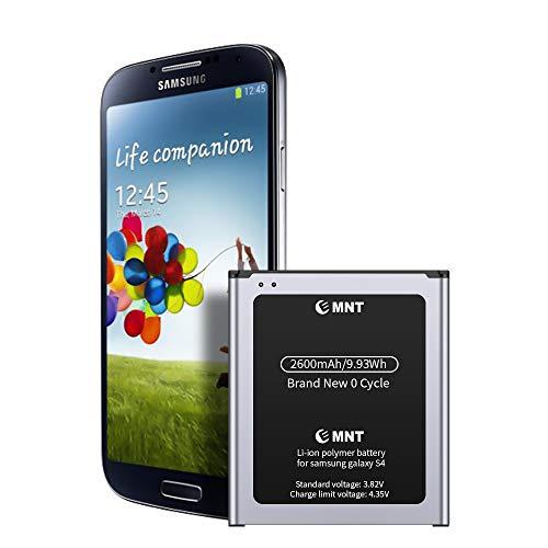 Batteria Compatibile con Samsung Galaxy S4, EMNT 2600mAh Li-ion Batteria Interna di Ricambio【2020 nuova versione】Corresponds to the original Galaxy S4 senza NFC【2 anni di garanzia】