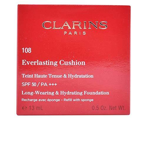 Clarins Refill Everlasting Cushion Foundation SPF 50 Nachfüllpackung, 108 Sand, 13 ml