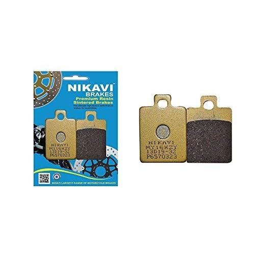 NIKAVI Front Brake Pad Compatible for Piaggio Vespa (Front)