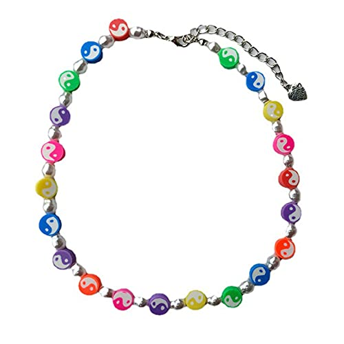 Sonoaud Gargantilla de perlas de imitación con forma de fruta y gargantilla de regalo único Lucky Fruit