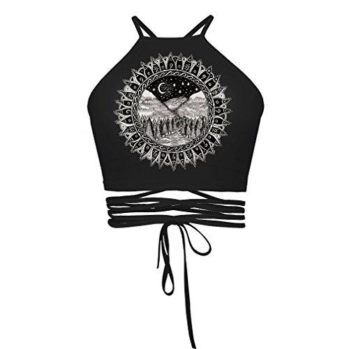 GITVIENAR Femme Soutien-Gorge de Sport, Yoga BH Forte Boîte de Fitness Training étirable Soutien-Gorge Bustier Push Up Top Sports épaule sans Bretelles Dos Design, 2018050705, Logo E
