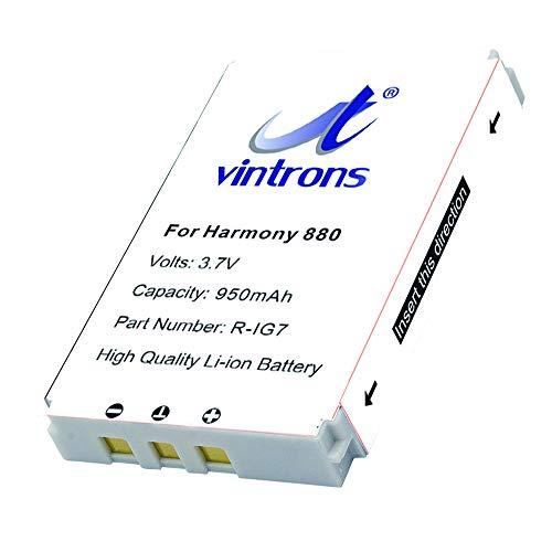 vintrons batería de repuesto para LOGITECH Harmony 720, Harmony 880, Harmony 900, Harmony One, MX-880, R-IG7, F12440023